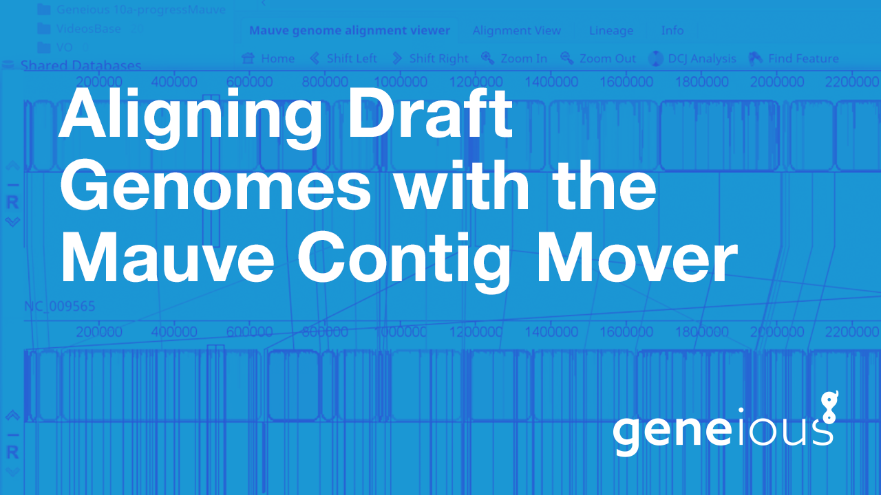 Aligning Draft Genomes with the Mauve Contig Mover